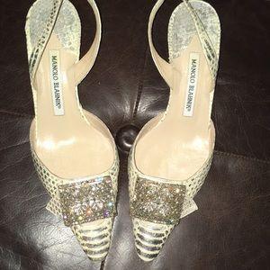 Manolo Blahnik Heels Size 37, US 7